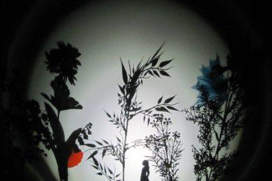 Fotografia ze spektaklu Kartki Pana Andersena