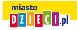 Logo partnera medialnego festiwalu portalu Miasto Dzieci