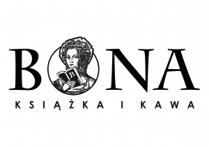 Logo partnera festiwalu Księgarni Bona-Książka i Kawa