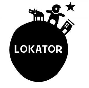 Logo partnera festiwalu księgarni Lokator